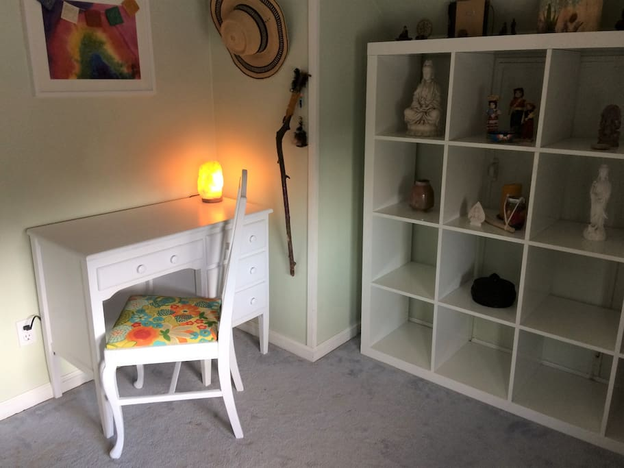 Desk & shelves in your room