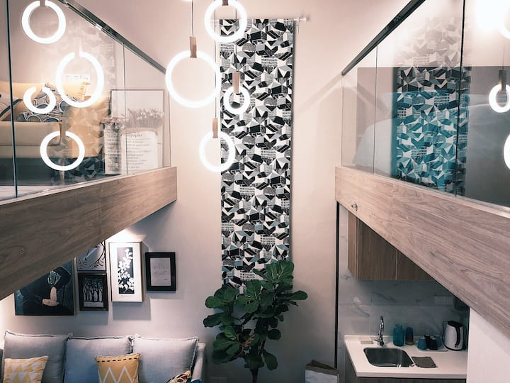 【Neko's Home】南京九龙湖LOFT风格设计型民宿