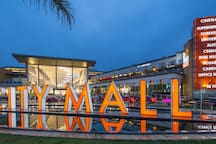 Point of interest: Biggest shopping center in the country. City Mall. 5 min by car or 20 min walking.