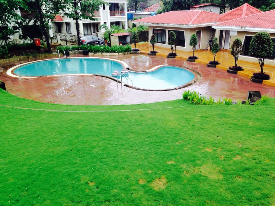 Sun hillary bungalows for rent in lonavala mh india Lonavala bungalows for rent swimming pool