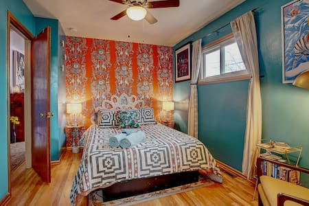 Eco/Art Home with Earthship Sunroom