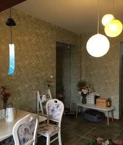 泸州花园洋房,舒适的1.8米大床,长江的好望角,便利的超市和交通系统 - 泸州