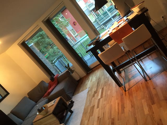 Lade, 10 minutes with bus to Solsiden  in the city - Trondheim - Appartement