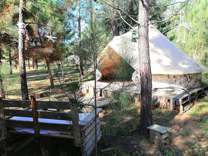 Camuflage Tent