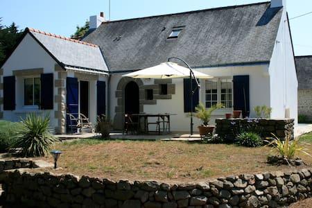 Grande maison avec piscine - Locmariaquer