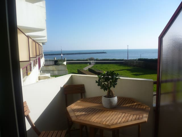 Appartement en bord de mer avec vue - Saint-Gilles-Croix-de-Vie - Apartemen