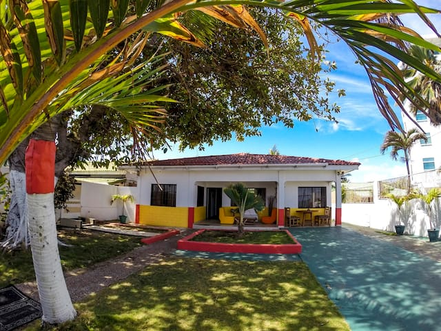 Cama en habitación compartidax10 C1 - San Andrés - หอพัก