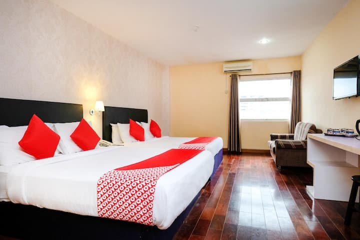 Grand City Hotel- For Family Suite! On Sale