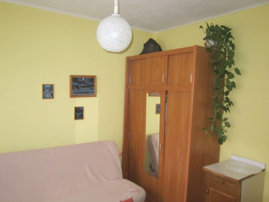 cozy room in Pogodno district 16 m2