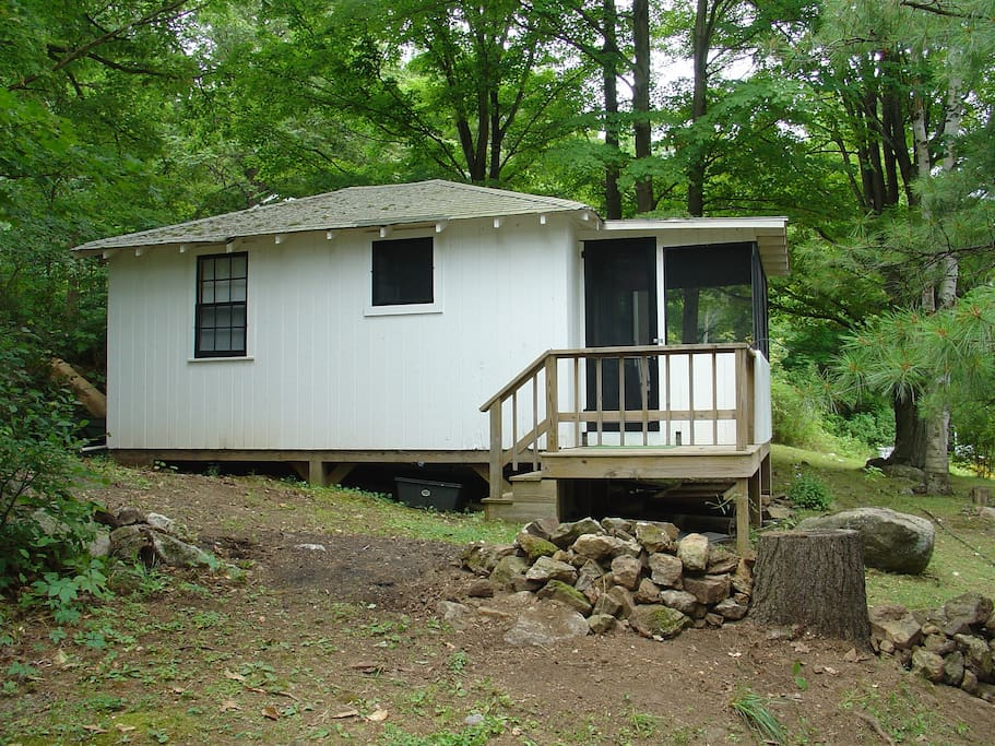 Black lake fishing cabin cabins for rent in hammond new for Fishing cabin rentals