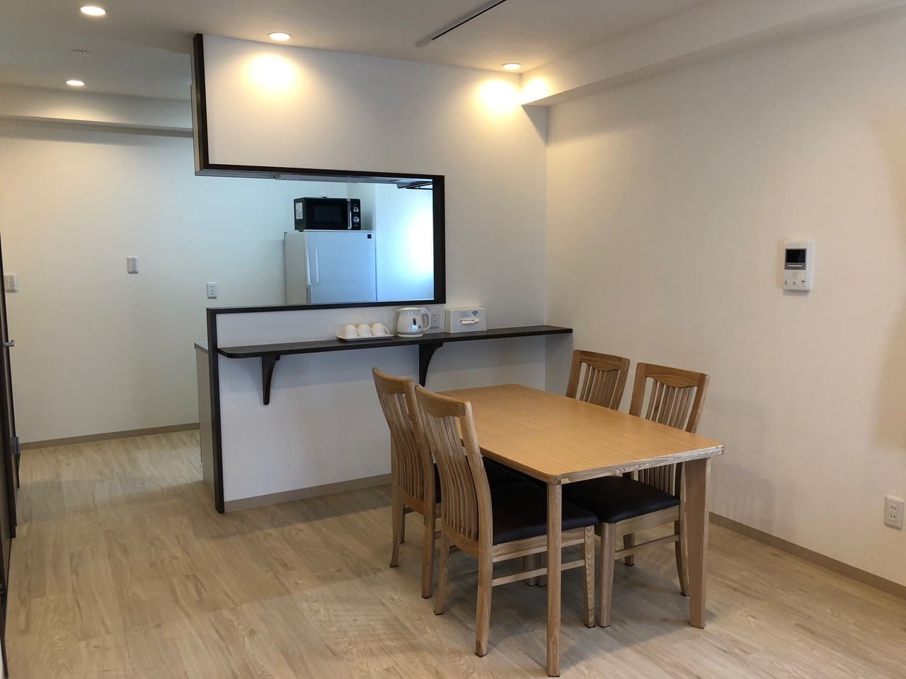 Family room dining