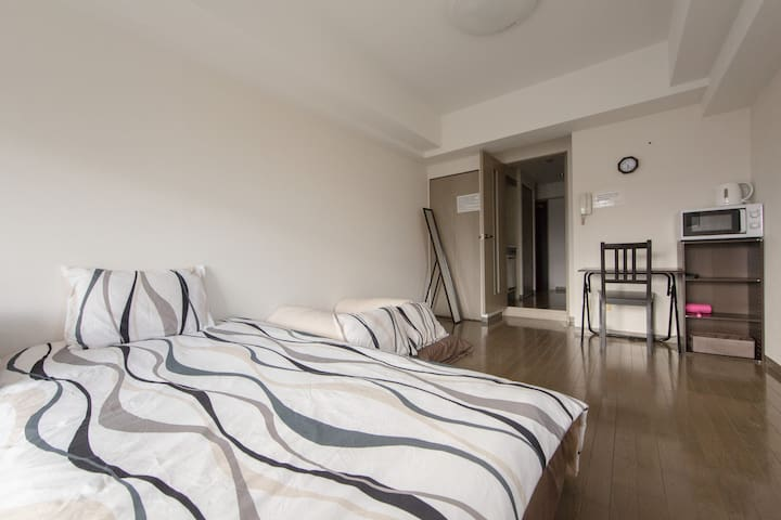 Umeda Newly furnished pvt apt 11th - Ōsaka-shi - Appartement