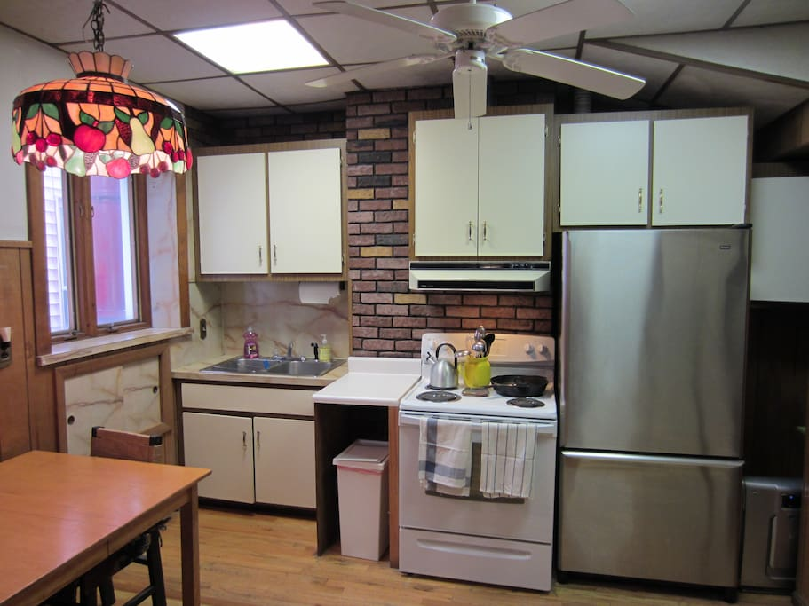 Fully functional funky kitchen