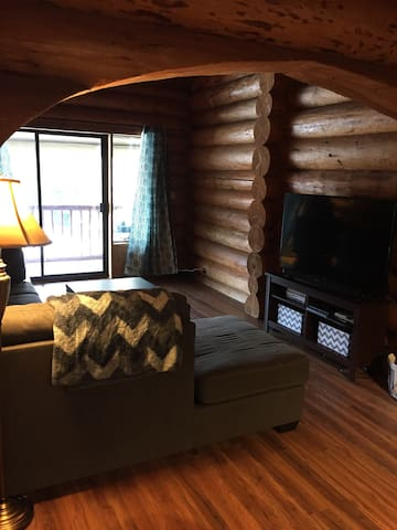 Cozy Log Townhome