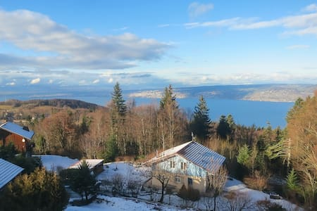 Apart 4 pers, close to ski lift, lake view! - Thollon-les-Mémises