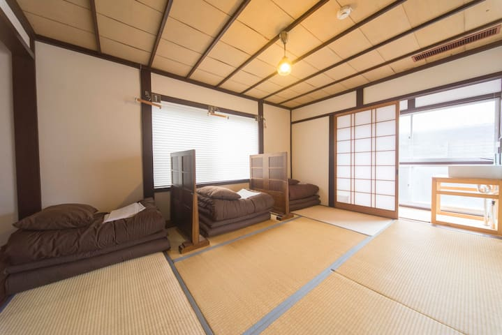 Book and Guesthouse Hitotomaru  (Private roomC)