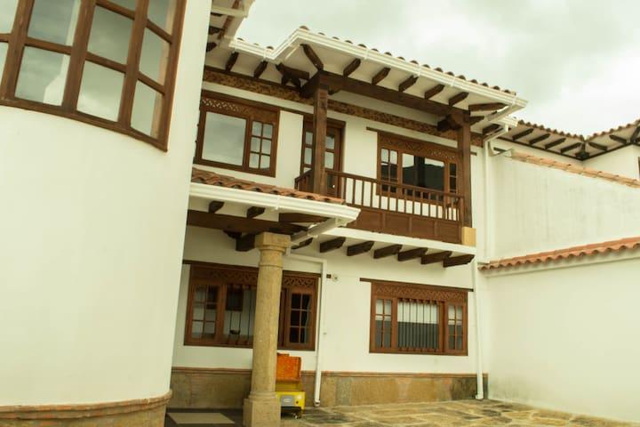 Cozy Flat, Piso 2 Apto. Villa De Leyva- Gran Vista