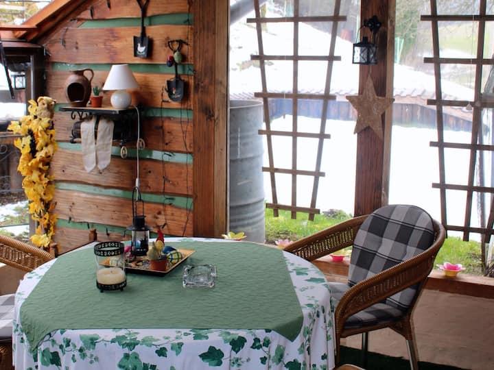 Ferienwohnung Hirtenhaus, (Attendorn), Feriewohnung Südterrasse, 40 qm, 1 Schlafzimmer, max. 3 Personen