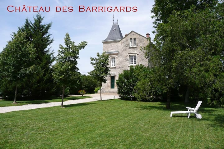 Chateau des Barrigards - Burgundy - Ladoix-Serrigny - Castle