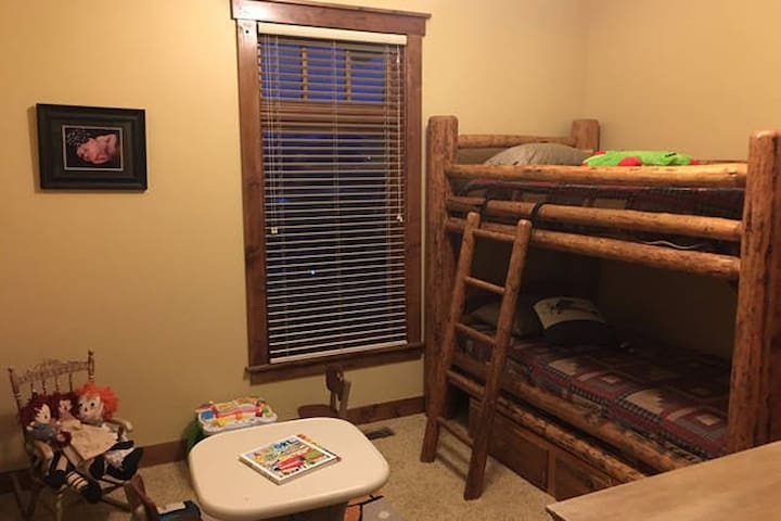 Eclipse in Victor, Bunk Bed Room - Victor - Casa