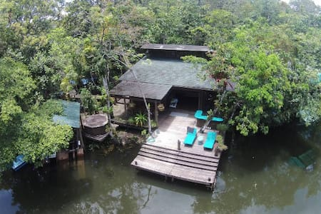 Cozy and private house for families in Rio Dulce