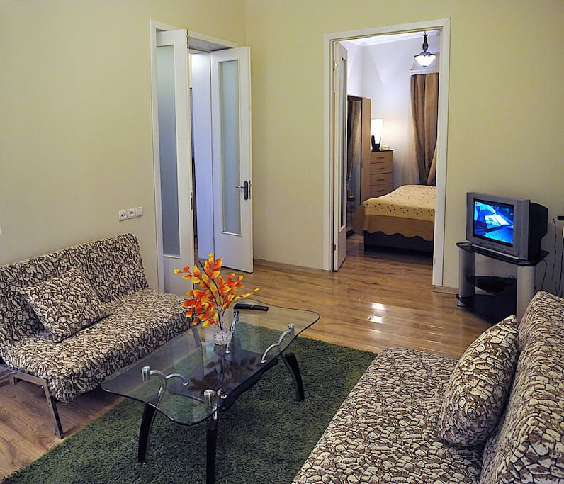 Living room and bedroom
