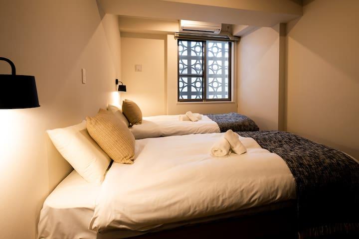 シングルベッド×2