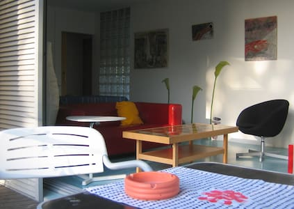 Garden apartment with views  - Apartamento