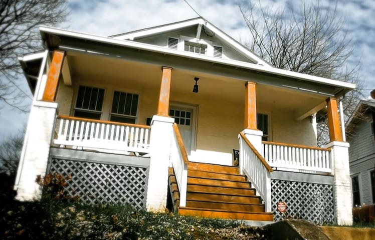 Stylish, Historic, Calming Bungalow - Roanoke - Rumah