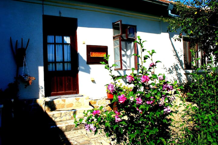 Rural Bulgarian Cottage complex with private pool.