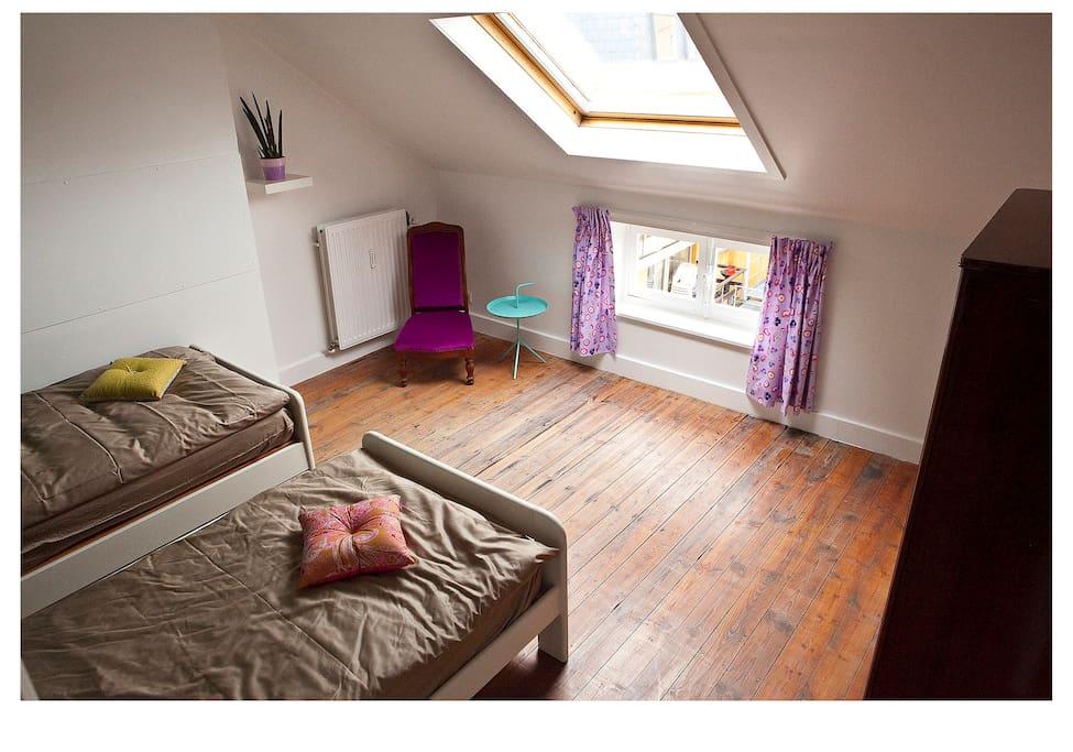 bedroom third floor back