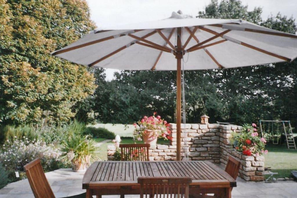 Garden Terrasse view 1