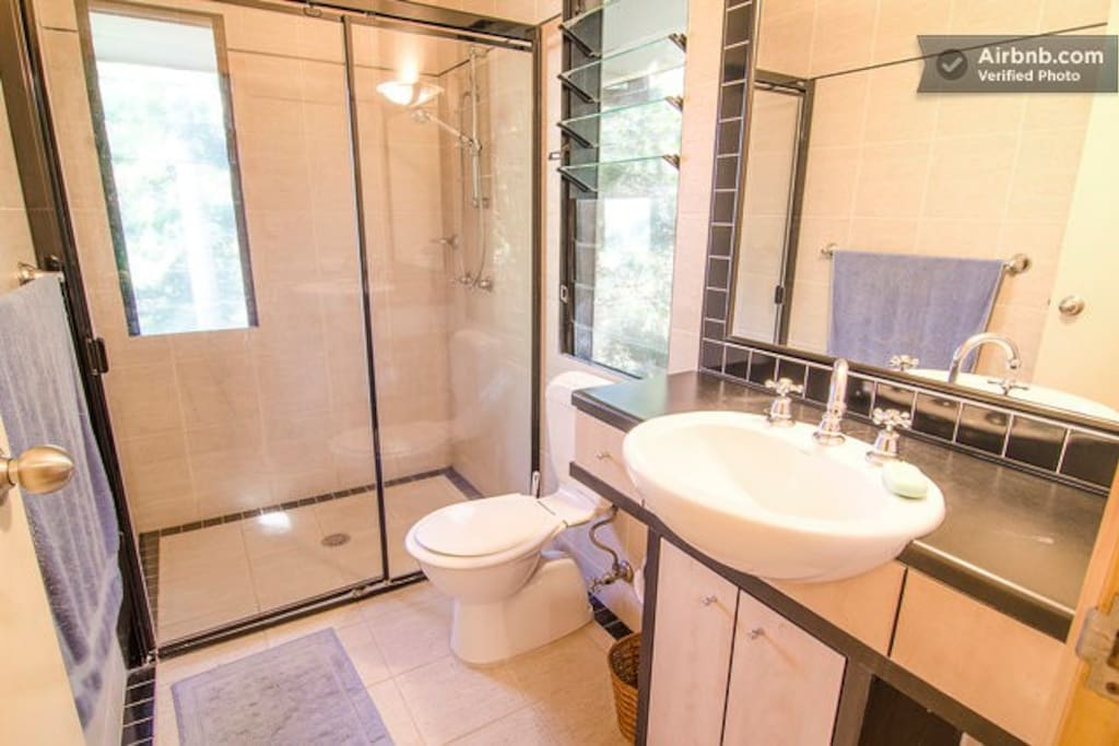 Private room in rainforest surrounds with ensuite