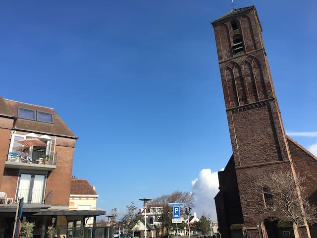 """Studio """"het strandhuisje"""" in centrum Wijk aan Zee - Wijk aan Zee - Appartement"""