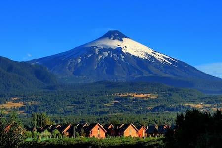 Pucón, Excelent Cabin Volcano view - Araucanía - Chalet