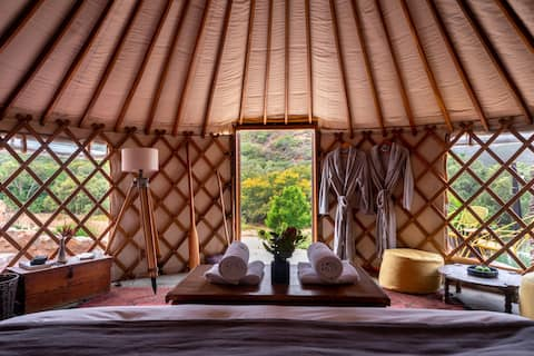 Southern Yurts - Forest View Yurt