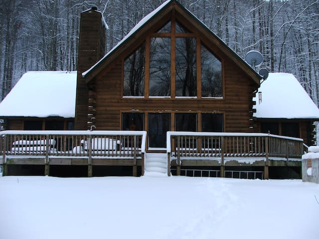 Feel at Home in Our Cozy B&B Log Cabins