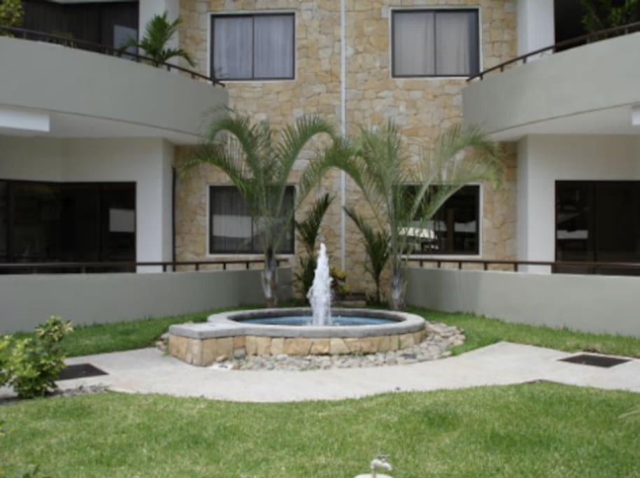 Avalon Condominium, Water Features Throughout the Complex, Santa Ana, Costa Rica