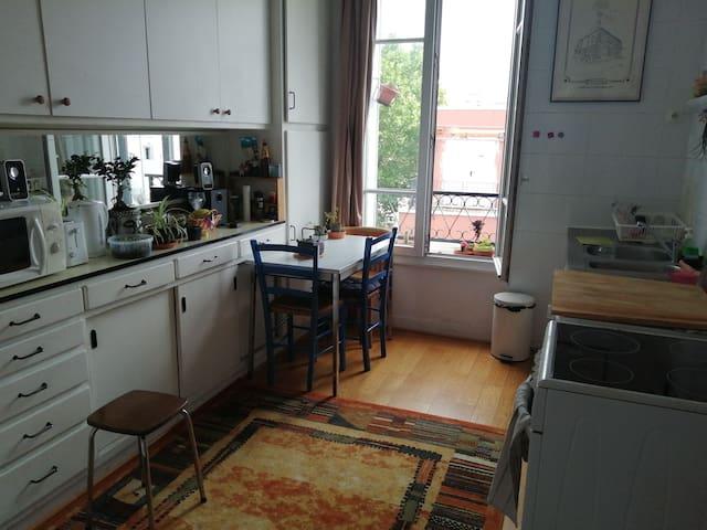 Chambre privé dans appartement.