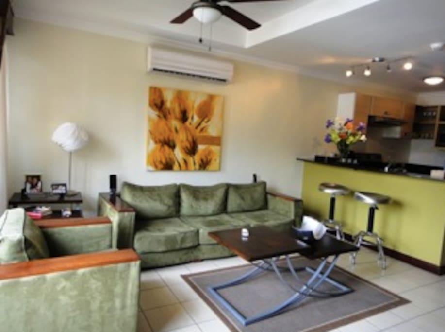 Avalon Condominium, Living Room, Santa Ana, Costa Rica