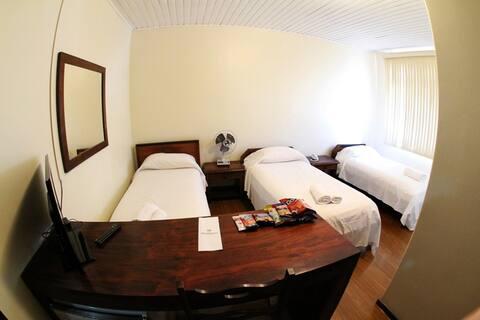 Hotel em São Mateus do Sul. Conforto e qualidade!