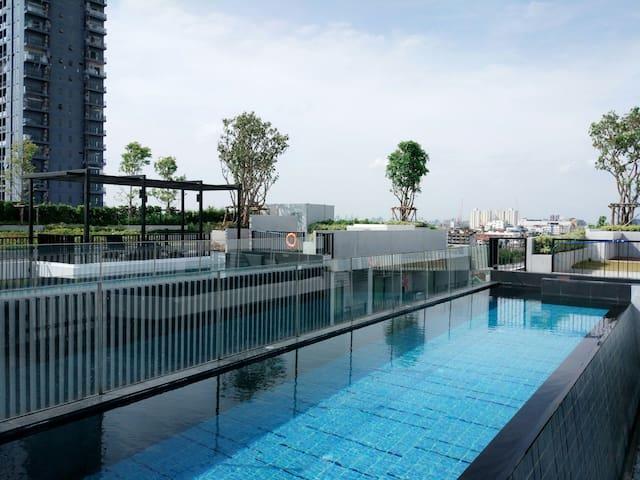 Clean,cozy&comfy! 1BR Apt - Bangkok - Apartemen