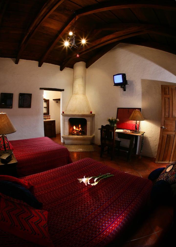 Posada El Antaño/Habitacion Colonial de dos camas