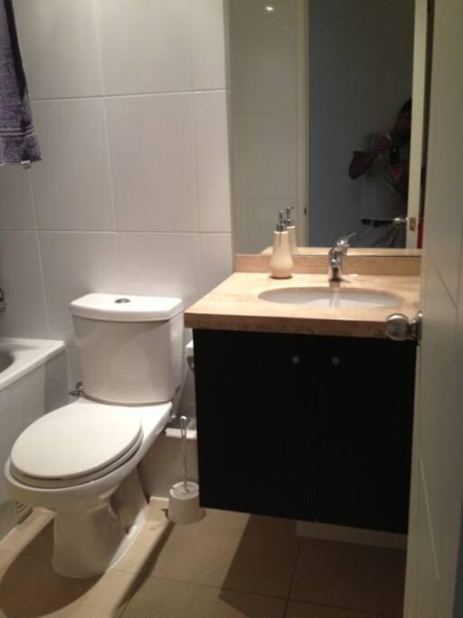 baño privado para huespedes