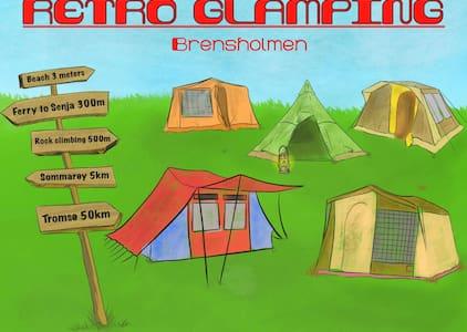 Retro Camping - Hotellstandard i hustelt