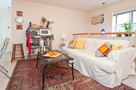 Sunny room 15min from Central Park!
