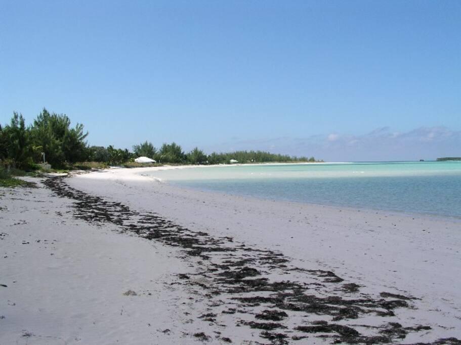 2.5 miles ofpure white sand beach