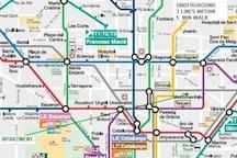 Underground lines in proximity