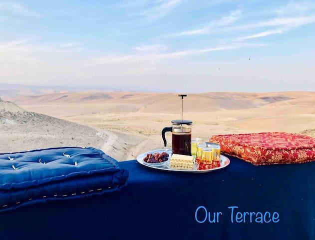 Desert View. unique experience and Desert cuisine.