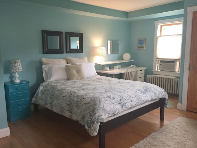 South end, large private guestroom/private bath.